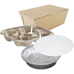 Food Trays, Containers - Lids