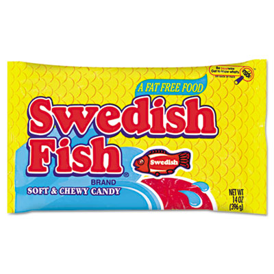 Candy original flavor red 14 oz dispenser box green for Swedish fish amazon