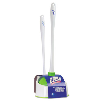 Lysol Brand Lysol Toilet Brush And Caddy Green